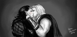 Loki, give me a kiss... Part 2 by LoverRevolveri