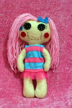 Cotton Candy Button Ragdoll by Cookies-Need-Love
