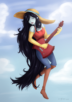 Marceline: I'm just your Problem by Little-Miss-Boxie