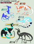 CLOSED///MTT Adoptables - round 20 by annicron