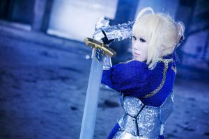 Fate/stay night- Saber3 by hydeaoi