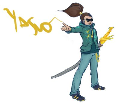 Yasuo intenso by Pollo-Pillo