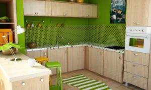 Learning Vray - Kitchen by dizzy-miro