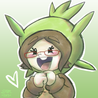 Sen the Chespin by sendoki