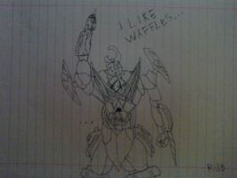 Drawing: Gurren Lagann by rubenimus21