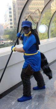 Sly Cooper cosplay by Drantis