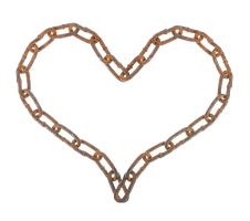 Chain Heart PNG #1 by bettadenu