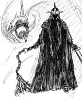 The Witch King of Angmar by thiscatharticnail