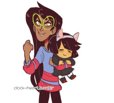 jade and potate by Clock--Heart