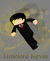Kevin the Time Lord by MonochromeFuji