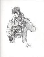 Gambit Pencils by CJRogue