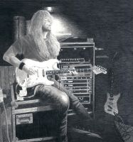 A Matter of Life and Death - Janick Gers by Terisa-san