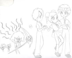 sketches for a PPGZ RRBZ story by Kogun