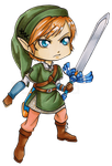 Chibi Skyward Sword Link by Ranefea