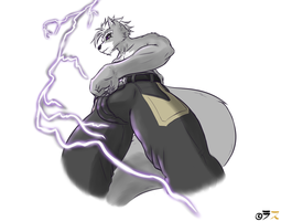 Lightning Wolf by Rath-Raholand