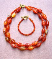 Carnelian Flame Set by Key-Kingdom