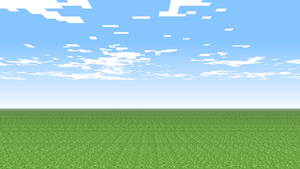 Minecraft Background 'Grass' by JabJabJab