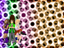 Xmas 2012 - The KJ Girls (Unova Version) Wallpaper by TrainerKelly