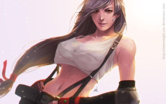 Tifa Lockhart by Overweight-Cat