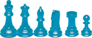 Chess Pieces by Stacey1mb