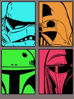 Helmets of Evil by AWESwanky