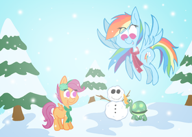 First Family Winter by iguana14