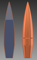 123gr AlPb-Cored Projectile by Nolo84