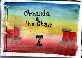 Amanda and the chase: Front by Mazilw0lf
