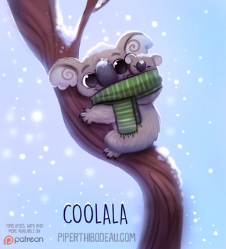 Daily Paint 1531. Coolala by Cryptid-Creations
