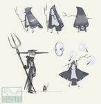 witchsona weeeeek by VCR-WOLFE