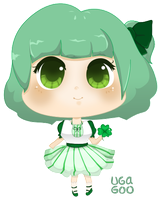 lucky clover by supperfrogg