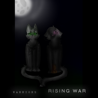 Warriors, Rising War Fanfiction Cover by Moon-Journey
