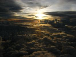Above the clouds by SurinameBlogger