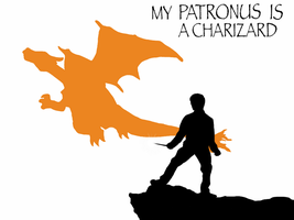 My Patronus is a Charizard by Mr-Saxon
