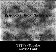 Wrought Iron Shadows by BBs-Brushes