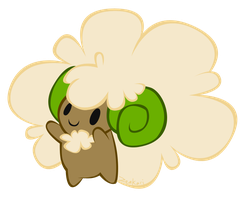 whimsicott by Zeakari