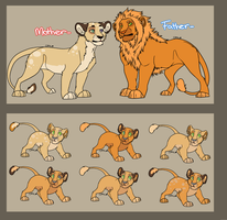 Lion King Adoptable 5 [CLOSED 0/6] by Balance-Song
