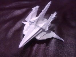 Origami Zeta Gundam Wave Rider by taerkitty