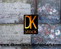 Graffiti Wall Texture Pack by dknucklesstock