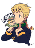 Jojo :: Giorno by Cartooom-TV