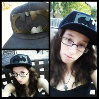Wearing my friends batman snapback by 3Rockstar3