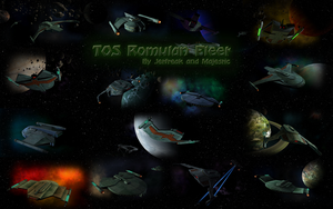 TOS Romulan Fleet by Majestic-MSFC