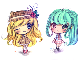 Chibi Adopts 5 (SOLD) by mochatchi
