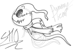 .:Sketch Request:. Dat lil' ghost by DummyHeart
