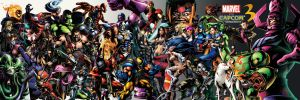 Marvel vs. Capcom 3 Characters by PacDuck