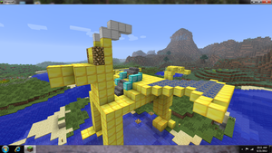 MineCraft dragon project by ThePoisonDragoness