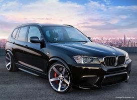 BMW X3 M Power. by JAdesigns75