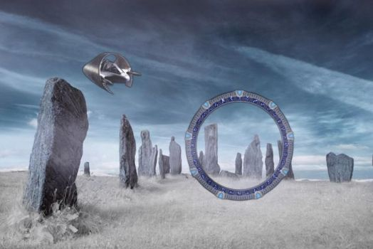 Callanish Gate by OliverInk