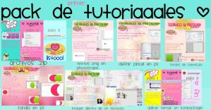 Pack de Tutoriales Baaasicos by MeelisaS