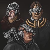 Three Tech-Heads by Crowsrock